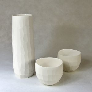 Vase à facettes