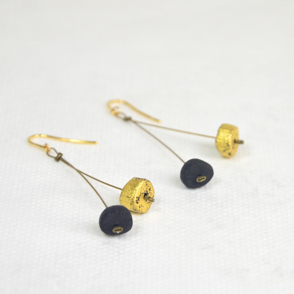 Boucles d'oreilles KURO-FULIKIN-TENCHI