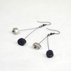 Boucles d'oreilles KURO-FULIPALLA- TENCHI