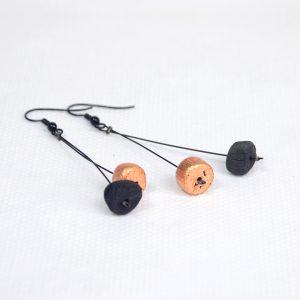Boucles d'oreilles EDO-FULI TENCHI