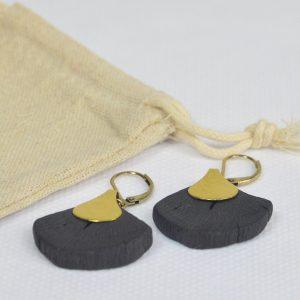 Boucles d'oreilles HIME-SASHI GINKO