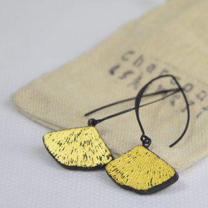 Boucles d'oreilles KURO-KIN-GINKO