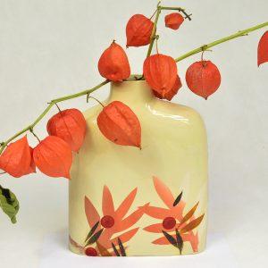 Vase feuillage