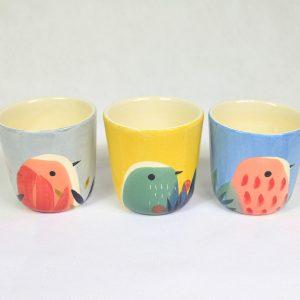 Gobelets Birds