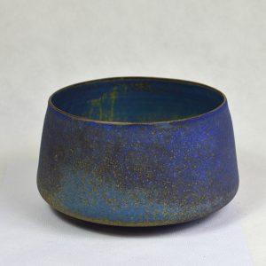 Petit plat bleu