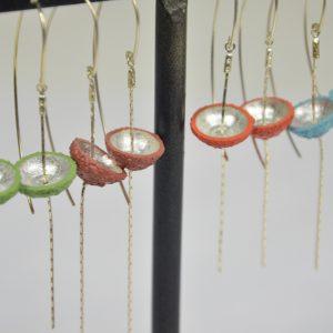 Boucles d'oreilles Cupules