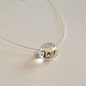 Collier perle de verre