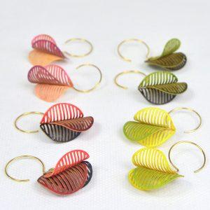 Boucles d'oreilles Algas