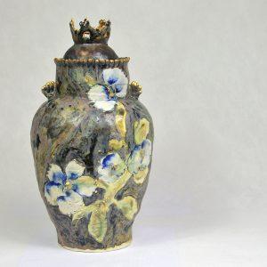 Vase chinois à couronne
