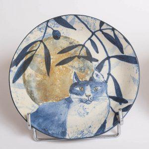 Petite assiette au chat